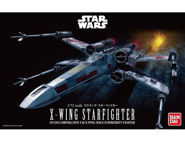 1:72 Scale Revell Star Wars X Wing Starfighter Model Kit #
