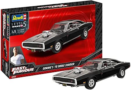 1:24 Scale Revell Fast & Furious Dominic's Dodge Charger Model Kit