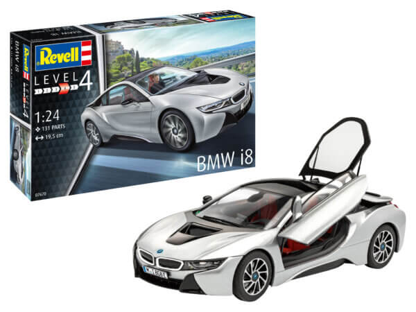 1:24 Scale Revell BMW I8
