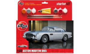 1:32 Scale AirFix Medium Starter Set - Aston Martin DB5 Silver