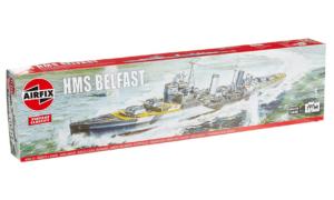 1:600 Scale AirFix HMS Belfast Model Kit