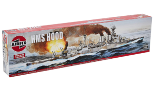 1:600 Scale AirFix HMS Hood Model Kit