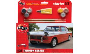 1:32 Scale AirFix Medium Starter Set - Triumph Herald