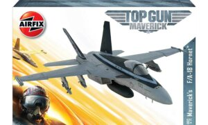 1:72 Scale AirFix Top Gun Mavericks F-18 Hornet Model Kit