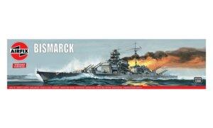 1:600 Scale AirFix Bismarck Model Kit