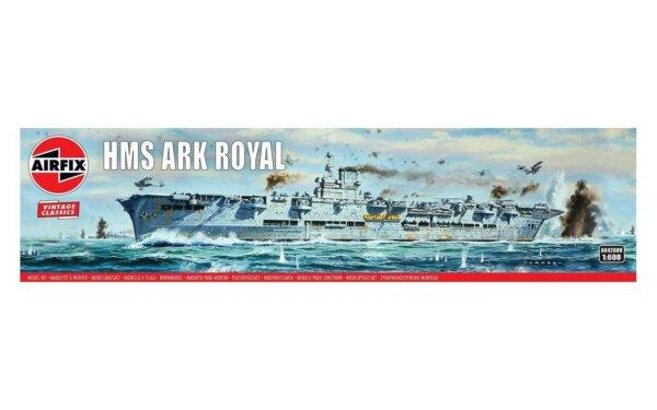 1:600 Scale AirFix HMS Ark Royal Model Kit