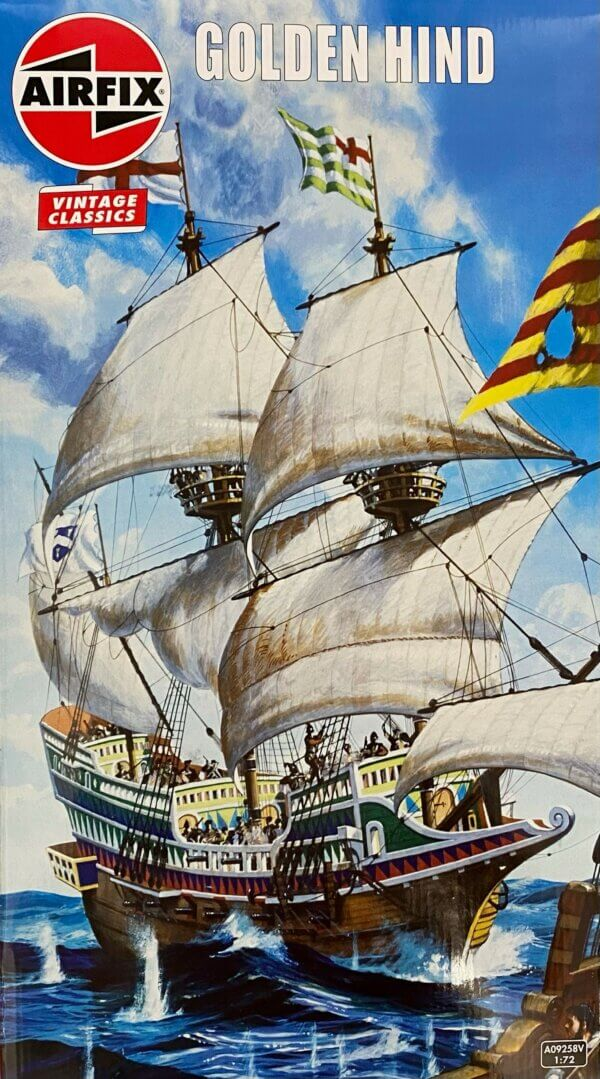 1:130 Scale AirFix Golden Hind Model Kit