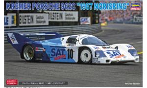 "1:24 Scale Hasegawa Kremer Porsche 962C ""1987 Norisring"" Model Kit *LIMITED EDITION"