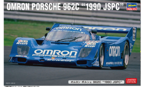 """1:24 Scale Hasegawa Omron Porsche 962C """"1990 JSPC Model Kit  *LIMITED EDITION"""