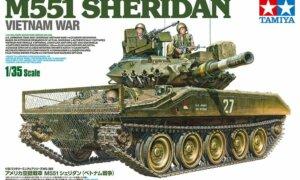 1:35 Scale Tamiya M551 Sheridan - Vietnam Model Kit