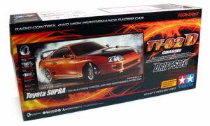 1:10 Scale Tamiya Toyota Supra Drift Spec Radio Control Kit