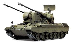 1:35 Scale Tamiya Flakpanzer Gepard Tank Model Kit