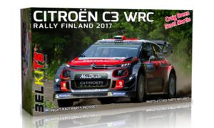 1:24 Scale Belkits Citroen C3 WRC FINLAND RALLY#