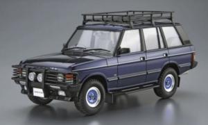 1:24 Aoshima Land Rover LH36D Range Rover Classic Custom Plastic Model Kit #