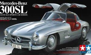 1:24 Scale Tamiya Mercedes BENZ 300SL #