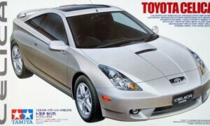 1:24 Scale Tamiya Toyota Celica Model Kit (SUPER RARE)